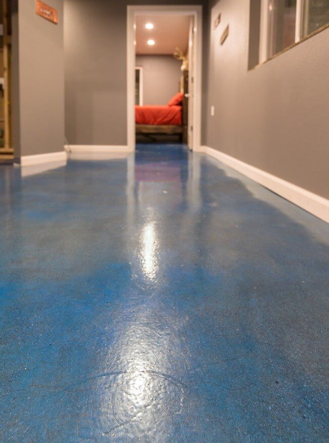 Colorado Springs polished concrete floors
